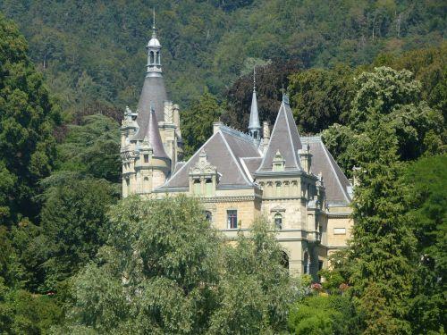 castle villa home