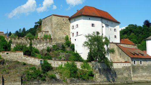 castle passau architecture