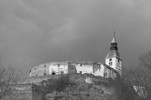 castle güssing gloomy