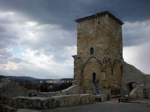 castle castle of diósgyőr miskolc hungary