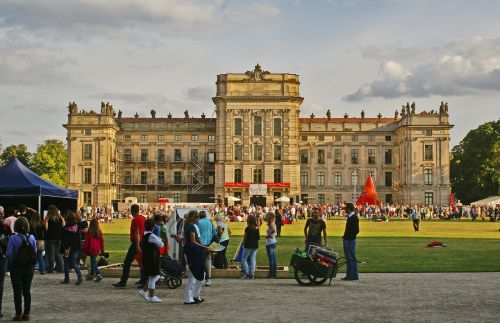 castle ludwigslust-parchim park