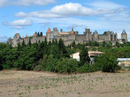 castle carcassonne france