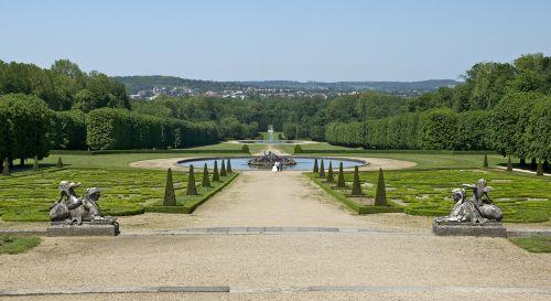 castle champs sur marne schlossgarten