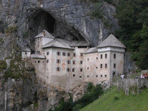 castle predjama castle predjamski grad