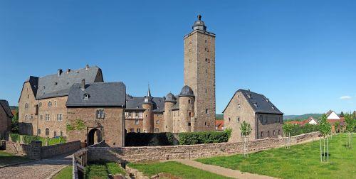 castle fortress steinau