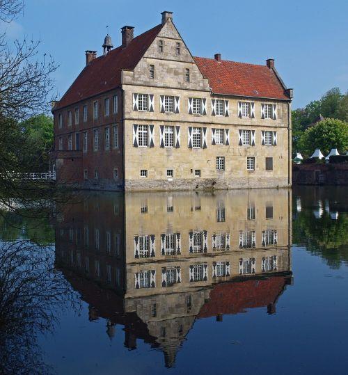 castle münsterland burg hülshoff