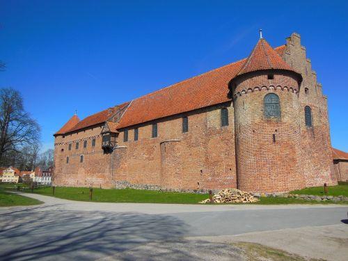 castle medieval nyborg castle