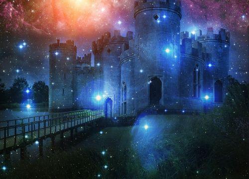 pilis,žvaigždė,fantazija,svajonė,troškimas,fikcija,atmosfera