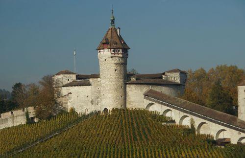 castle fortress schaffhausen