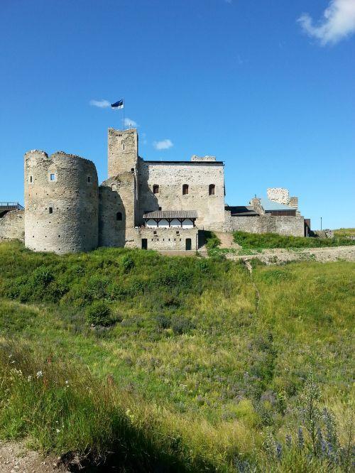castle flag estonia