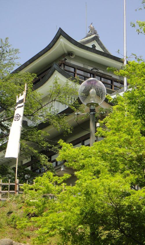 castle japan building