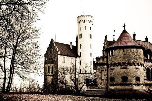 castle lichtenstein castle tower