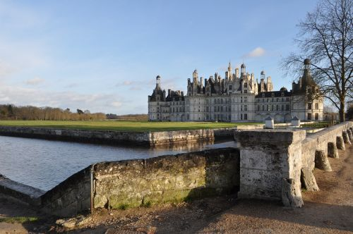 castle château de la loire loire valley