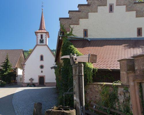 castle chapel st georg gaisbach