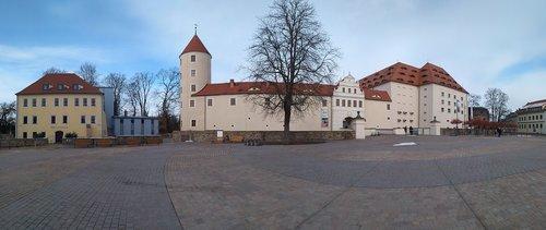 castle freudenstein  kruger house  freiberg