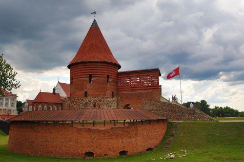castle kaunas architecture lithuania