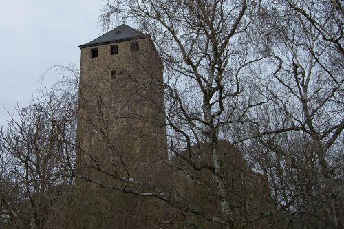 castle lichtenberg castle burgruine