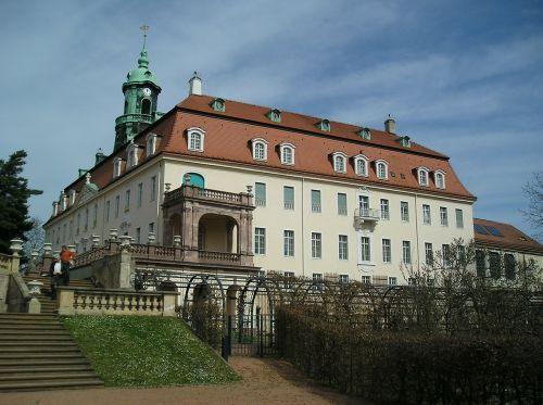 castle lichtenwalde saxony germany