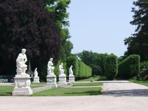 castle park düsseldorf benrath