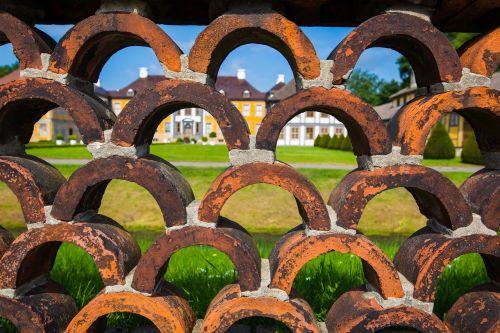 castle park wall fence