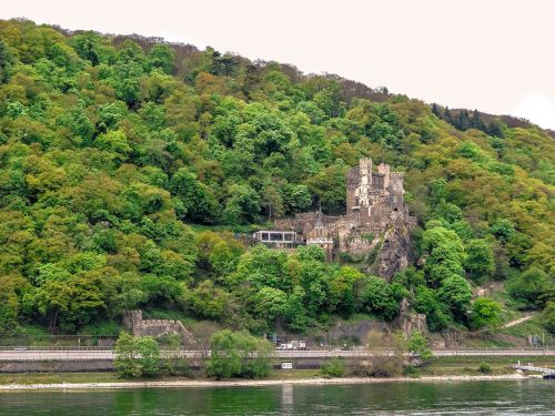 castle rhine stone castle rhine