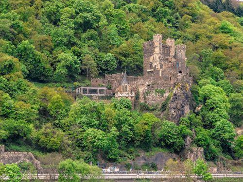 castle rhine stone castle sachsen