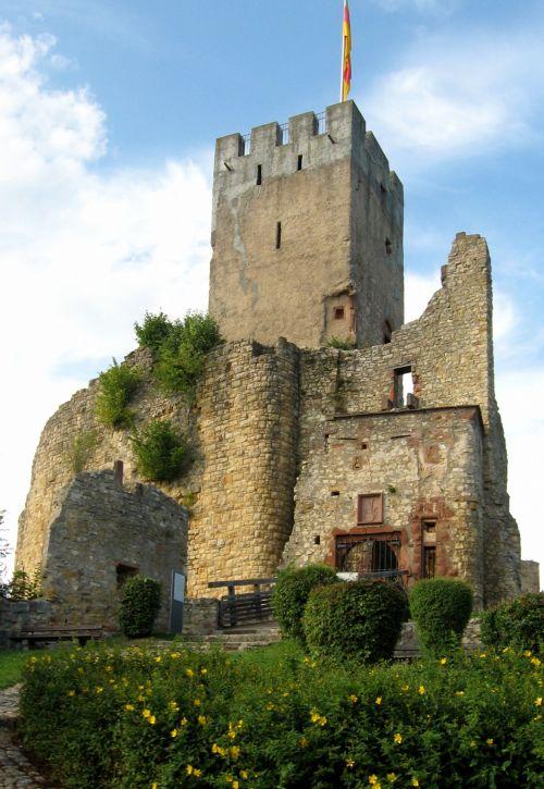Castle Roetteln In Germany