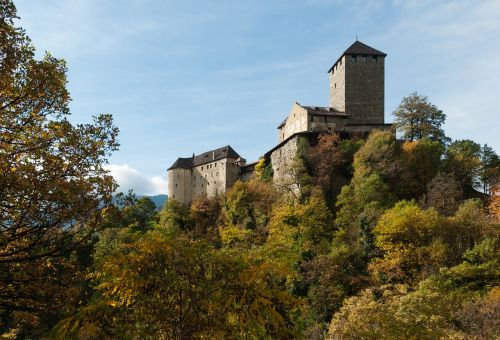 castle tyrol south tyrol autumn