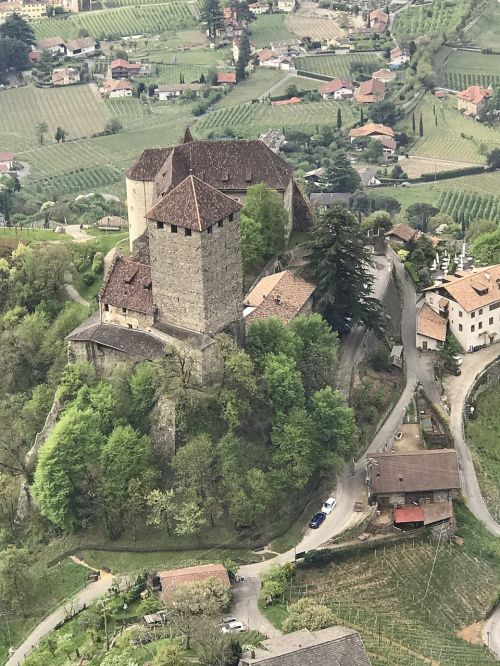 castle tyrol south tyrol landscape