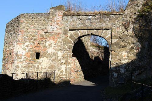 castle wall castle gate castle