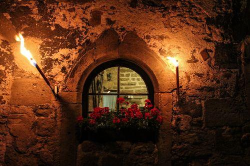 castle windows castle by looking