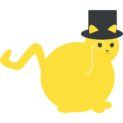 cat fat cat rich