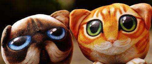 cat stuffed animals cute