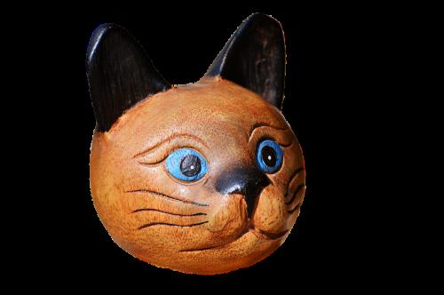 cat wood cat deco