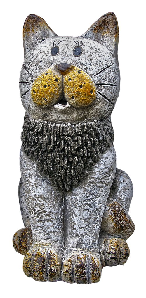 cat figure ceramic