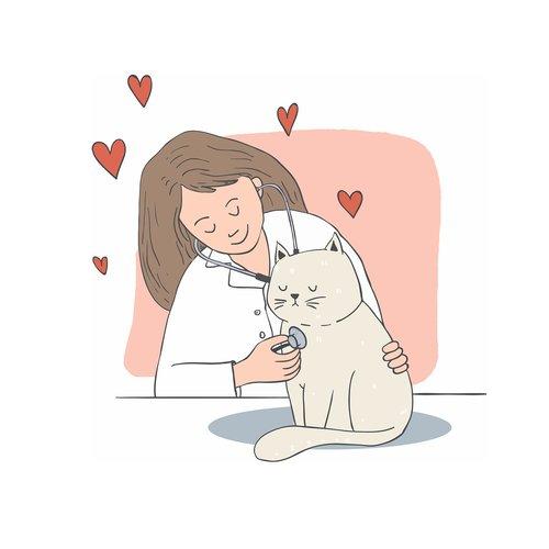 cat  love  doctor