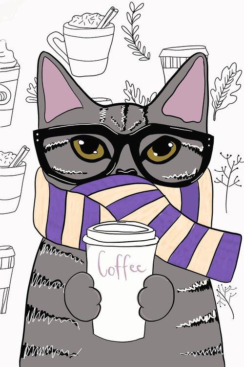 cat  kitten  coffee