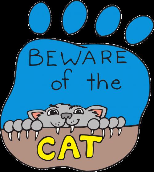 cat print paw