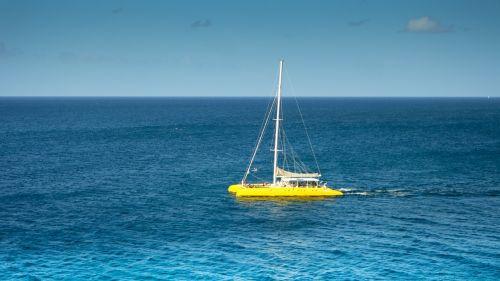 catamaran sea sail