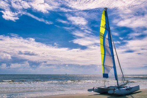 catamaran  sea  boat