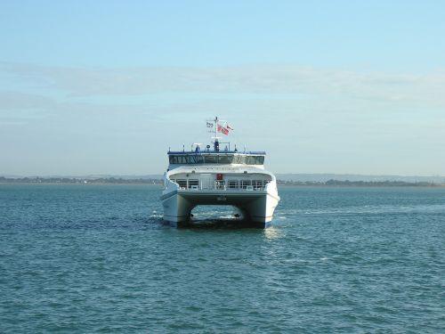 catamaran ferry nautical