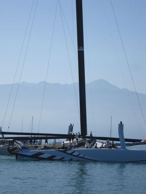 catamaran boat alinghi