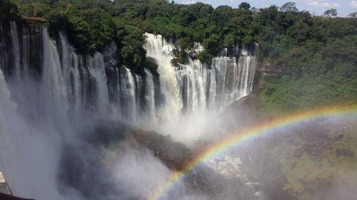 cataracts angola rainbow
