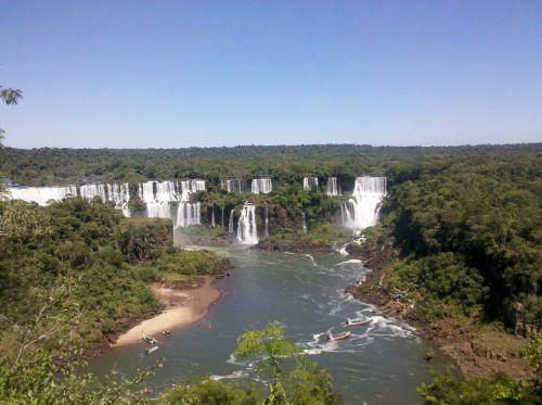 cataracts water falls iguaçu