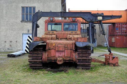 caterpillar tracked tractors machine
