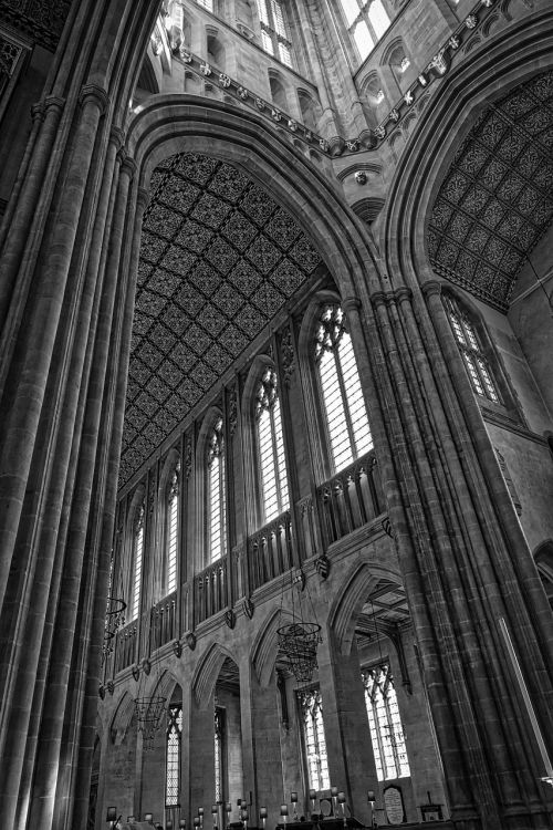 cathedral transept ceiling