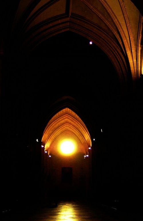 cathedral palencia arcades