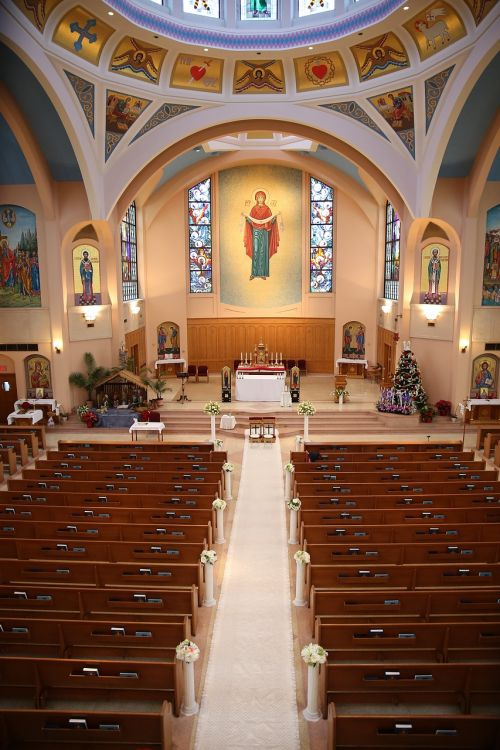 wedding ceremony cathedral canada
