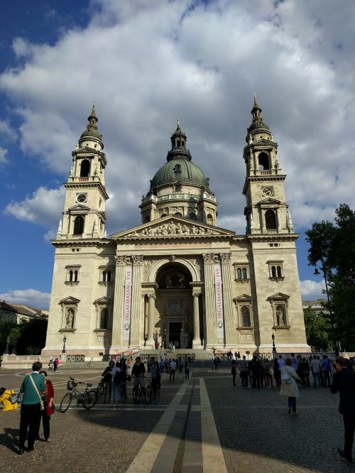 cathedral budapest ancient times