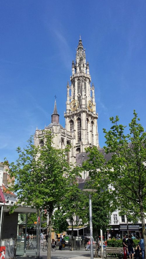 cathedral antwerp our lady tower